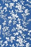 Het bloemenpatroon van de achtergrondtextuurstof Royalty-vrije Stock Afbeeldingen
