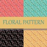 Het bloemenpatroon van de kersenbloesem Stock Afbeeldingen