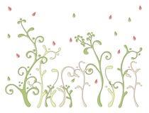 Het bloemenpatroon van de kleur Stock Fotografie