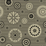 Het bloemenpatroon van de kunst Royalty-vrije Stock Afbeelding