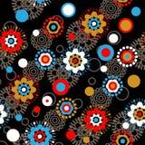 Het bloemenpatroon van de kunst Royalty-vrije Stock Afbeeldingen
