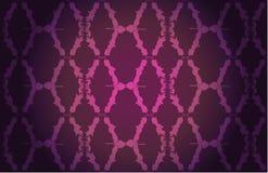 Het bloemenpatroon van het behang royalty-vrije illustratie