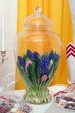 Het bloemstuk van de lente Stock Fotografie