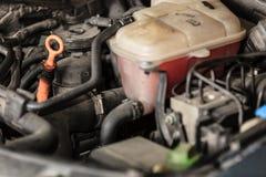 Het blok automobiele motor van de close-upmotor stock foto's