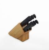 Het Blok en de Messen van het mes stock foto's