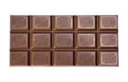Het blok van de chocolade Royalty-vrije Stock Fotografie