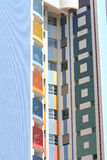 Het Blok van de flat Stock Foto