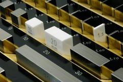 Het blok van de maat Stock Foto