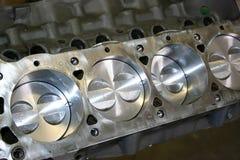 Het Blok van de Motor van de mustang Stock Afbeelding