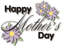 Het Blok van de Titel van de Dag van moeders Stock Foto's