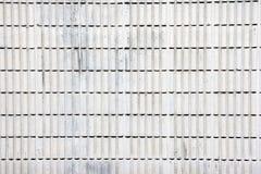 het blokmuur van het strookcement Stock Foto's