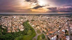 Het Boa Vistacityscape van Sãojoã£o DA stock afbeeldingen