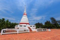 Het boeddhisme Thaise tempel van de pagode Stock Afbeelding