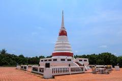 De blauwe hemel Thailand van de pagode Stock Afbeelding