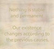 Het boeddhismefilosofie en onderwijs Stock Afbeeldingen