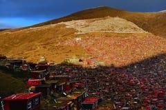 Het boeddhismeuniversiteit van Larong Wuming van Seda Royalty-vrije Stock Afbeelding