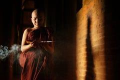 Het boeddhistische beginners leren royalty-vrije stock afbeeldingen