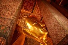 Het boeddhistische teken van de Rattanakosinkunst van Thailand Stock Fotografie