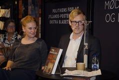 HET BOEK FAIR-2015_ VAN KOPENHAGEN Stock Foto