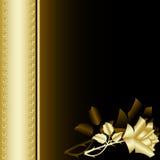 Het boek met goud nam 4 toe Stock Afbeeldingen