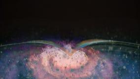 Het boek is over ruimteavonturen fantasie stock video