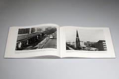 Het Boek van Berlin Wall 1961-1989, Kerk van Verzoening stock afbeeldingen