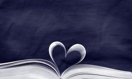 Het boek van Blauw Stock Foto