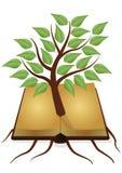 Het boek van de boom vector illustratie