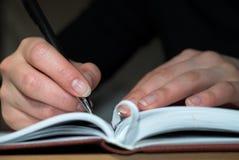 Het boek van de dag Stock Foto's