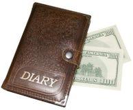 Het boek van de dollar Royalty-vrije Stock Foto