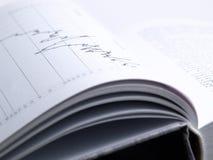 Het boek van de investering Stock Fotografie