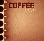 Het Boek van de koffie. royalty-vrije illustratie