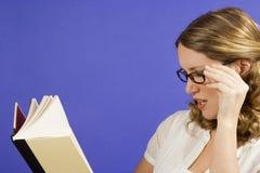 Het Boek van de lezing Stock Afbeelding