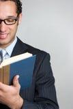 Het Boek van de Lezing van de mens Stock Afbeeldingen