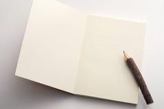 Het boek van de nota Royalty-vrije Stock Foto