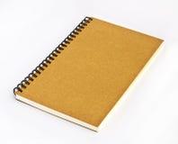 Het boek van de nota royalty-vrije stock afbeeldingen