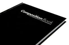 Het boek van de samenstelling Stock Afbeelding