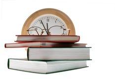 Het boek van de tijd Stock Foto