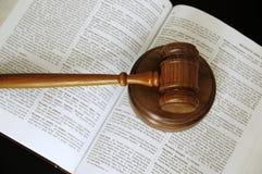 Het boek van de wet Stock Afbeelding