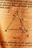 Wetenschapsboek royalty-vrije stock foto's