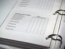Het Boek van het huwelijksbewijs Royalty-vrije Stock Afbeelding