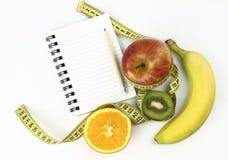 Het boek van het dieet Stock Afbeeldingen