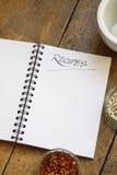 Het Boek van het recept Royalty-vrije Stock Afbeelding