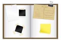 Het boek van het schroot Stock Foto's