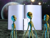 Het Boek van het vreemdelingenverhaal vector illustratie