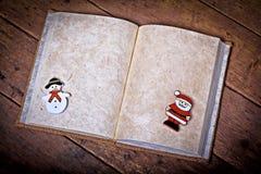 Het boek van Kerstmis Stock Fotografie
