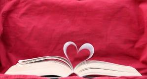 Het boek van Liefde twee Stock Afbeeldingen