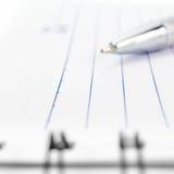 Het boekachtergrond van de steek spiraalvormige bindende nota Royalty-vrije Stock Foto