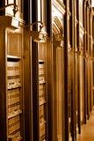 Het boekbibliotheek van de wet Stock Foto