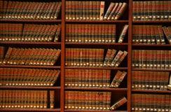 Het boekbibliotheek van de wet Stock Afbeelding